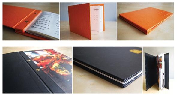 Restaurant design menu